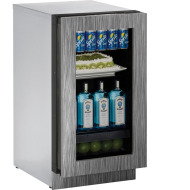18 In. Modular 3000 Series Integrated Frame Glass Door Refrigerator with Right-Hand Hinge