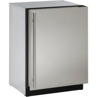 24-In. Modular 3000 Series Stainless Solid Door Freezer with Reversible Hinge