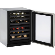 24-In. Modular 3000 Series Wine Captain with Stainless Frame Right-Handed Door and Lock