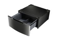 Laundry Pedestal – Black Stainless Steel