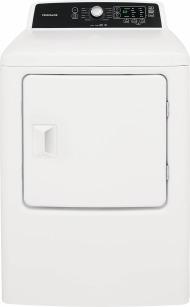 Model: FFRG4120SW | 6.7 Cu. Ft. Free Standing Gas Dryer