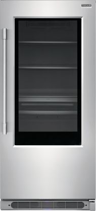 19 Cu. Ft. Glass Single-Door Refrigerator
