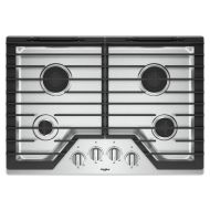 Model: WCG55US0HS | 30-inch Gas Cooktop with EZ-2-Lift™ Hinged Cast-Iron Grates