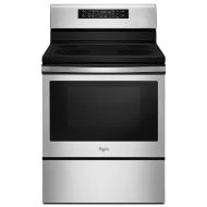 Whirlpool 5.3 cu. ft. Guided Electric Front Control Range with Fan Convection Cooking