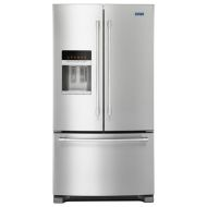 Maytag 36- Inch Wide French Door Refrigerator with PowerCold® Feature - 25 Cu. Ft.