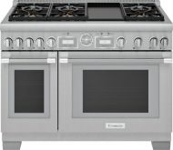 48-Inch  Dual Fuel Range with Griddle