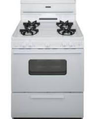 30 Inch  Sealed Burner  Electronic Spark Gas Range - White