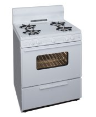 30 Inch  Sealed Burner  Electronic Spark Gas Range