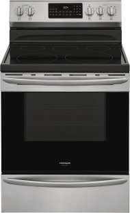 """Frigidaire Gallery 30"""" Freestanding Electric Range with Air Fry"""