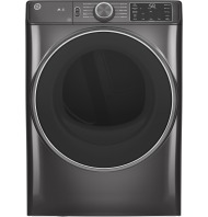 GE GE® 7.8 cu. ft. Capacity Smart Front Load Gas Dryer with Sanitize Cycle