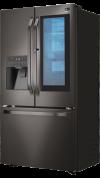 Model: LSFXC2496D   BLACK STAINLESS STEEL COUNTER-DEPTH INSTAVIEW DOOR-IN-DOOR REFRIGERATOR
