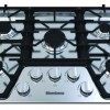 30in gas cooktop, 5 burner