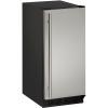 15-In. 1000 Series Solid Door Refrigerator with Reversible Door Hinge-Stainless Steel