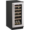 15-In. 1000 Series Stainless Frame Wine Captain with Reversible Hinge Door