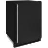 24-in. 1000 Series Freezer- Black