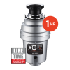 Model: XOD1HP | XO Ventilation 1 HP Lifetime Warranty, Continuous Feed waste disposer