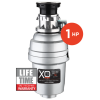 Model: XOD1HPBF   XO Ventilation 1 HP Lifetime Warranty, Batch Feed waste disposer