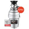 Model: XOD34HPBF   XO Ventilation 3/4 HP 10 Year Warranty, Batch Feed waste disposer