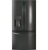Model: GFE24JBLTS   GE® ENERGY STAR® 23.7 Cu. Ft. French-Door Refrigerator