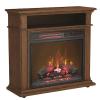 Duraflame 31.5-in Wide  Oak Infrared Quartz Electric Fireplace