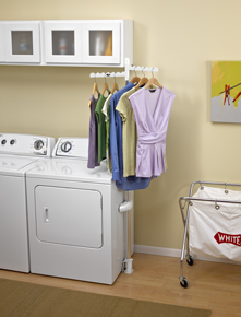 Laundry 123 Adjustable Clothes Rack