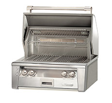 "Alfresco 30"" AXLE Grill, Built-in With Sear Zone"