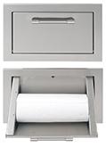 Paper Towel Roll Center, Single Bin