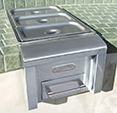 Food Warmer / Steam Table Built-in