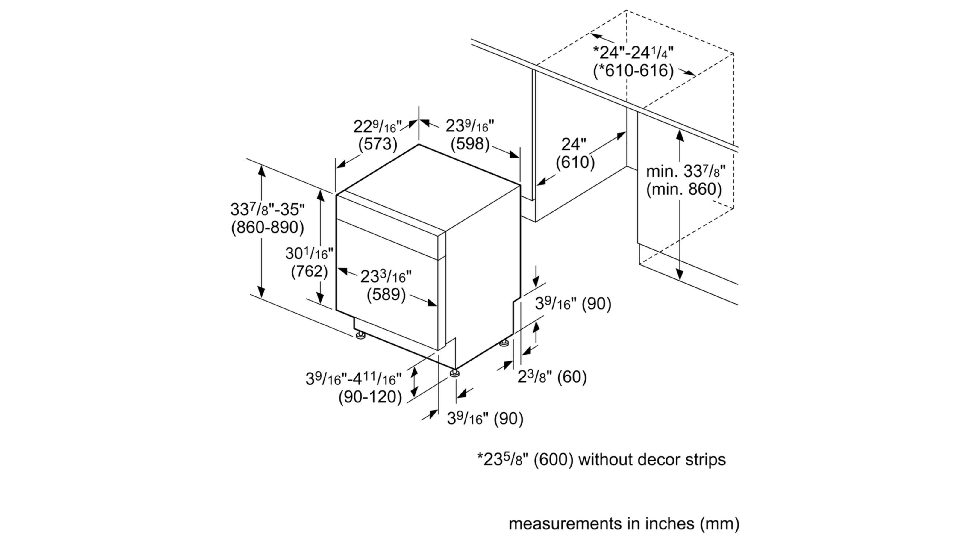 Ascenta®SHS5AV55UCStainless steel