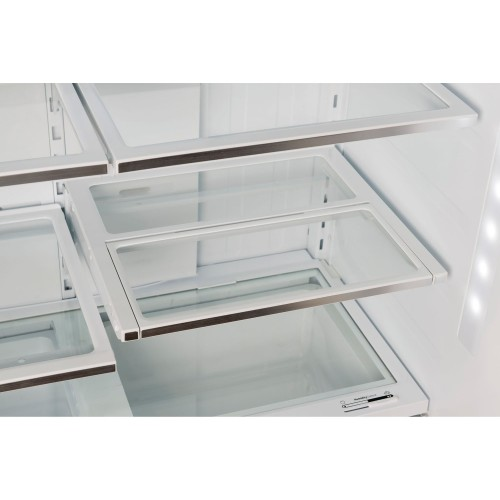 "Model: B21CT80SNS | Bosch  36"" Counter-Depth 3-Door Refrigerator"