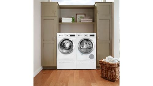 "Model: WAW285H2UC | Bosch 24"" Compact Washer"