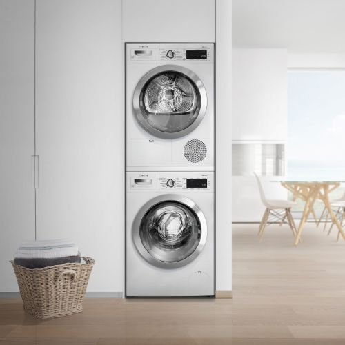 "Model: WTG865H2UC | Bosch 24"" Compact Condensation Dryer"