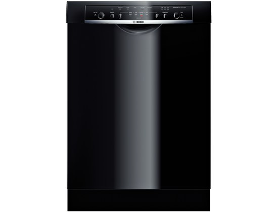 23 5/8 '' Recessed Handle Dishwasher Ascenta- Black