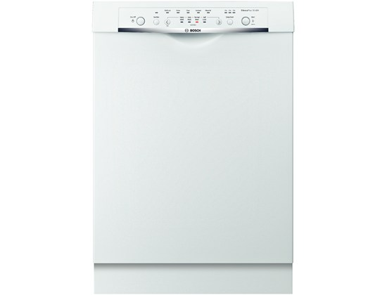 23 5/8 '' Recessed Handle Dishwasher Ascenta- White