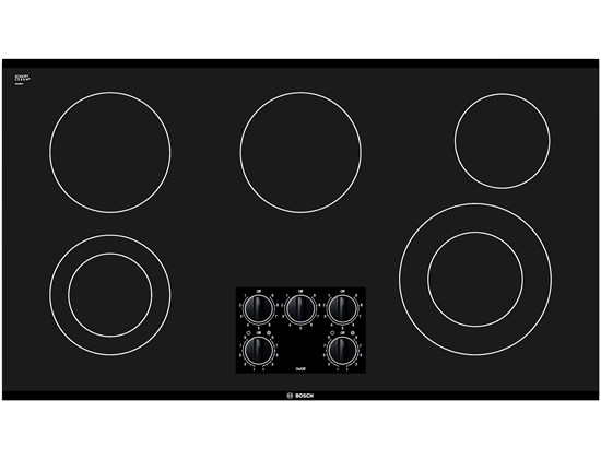 36 Black Electric Cooktop 300 Series - Black