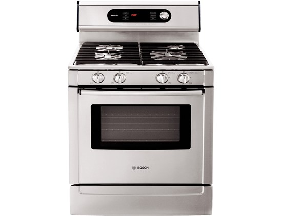 "Bosch 30"" Dual Fuel Freestanding Range 700 Series - Stainless Steel"