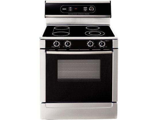 "Bosch 30"" Electric Freestanding Range 700 Series - Stainless Steel"