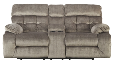 Ashley DBL Rec Loveseat w/Console
