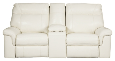 Ashley PWR REC Loveseat/CON/ADJ HDRST