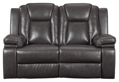 Ashley PWR REC Loveseat/ADJ Headrest