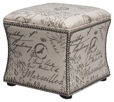 Ashley Upholstered Storage Cube
