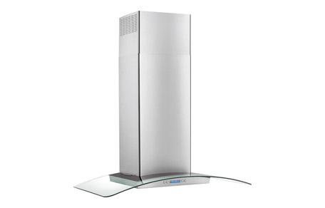 """Electrolux ICON 36"""" Glass and Stainless Canopy Wall-Mount Hood"""