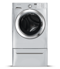 3.8 Cu.Ft. Front Load Washer featuring Ready Steam