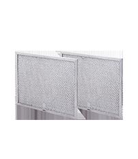 "Frigidaire 11.5"" x 10"" Aluminum Range Hood Filters, 2 Pack"