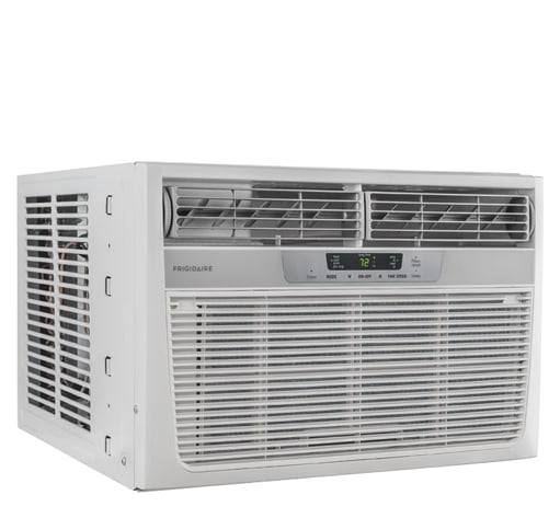 Model: FFRH1222Q2 | Frigidaire 12,000 BTU Window-Mounted Room Air Conditioner with Supplemental Heat