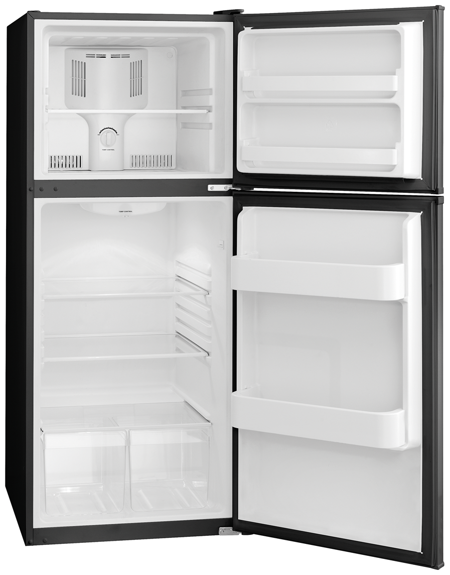 Frigidaire - FFET1022QB - 9.9 Cu. Ft. Top Freezer Apartment-Size ...