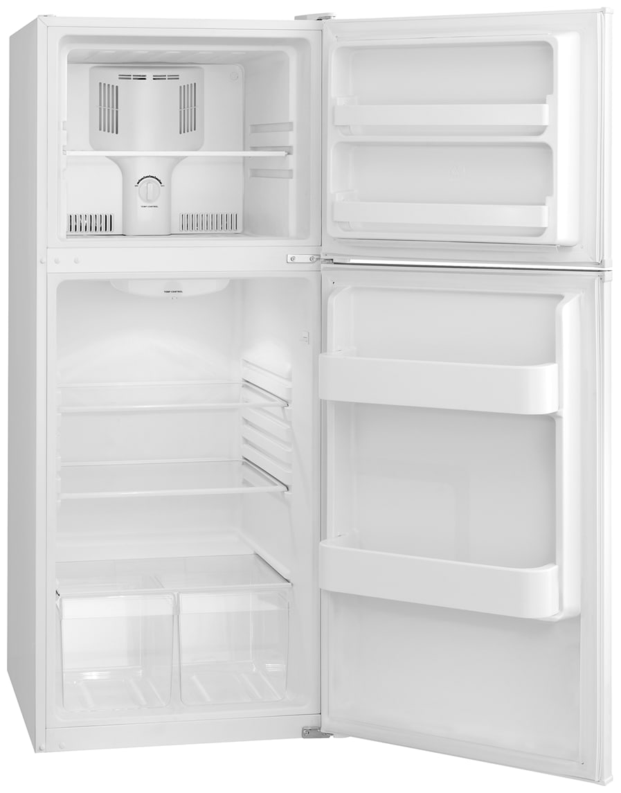 Frigidaire - FFET1022QW - 9.9 Cu. Ft. Top Freezer Apartment-Size ...