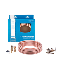 20' Copper Refrigerator Waterline Kit, Non-Self Tapping