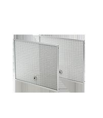 "Frigidaire 11.75"" 14.25"" Aluminum Range Hood Filter, 2 Pack"