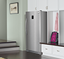 17.0 Cu. Ft. 2-in-1 Upright Freezer or Refrigerator